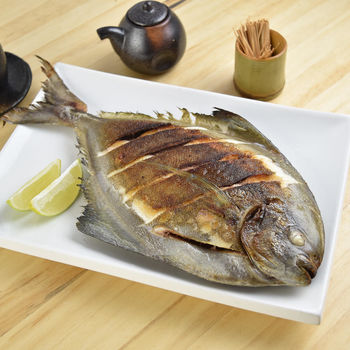 【魚博士-魚霸】野生現撈黑鯧3尾(300g/尾)