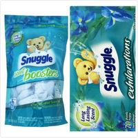 【美國 Snuggle】衣物柔軟芳香球-鳶尾花香(520g/26顆)*2+烘乾機香衣片(70片)*2