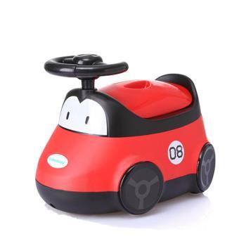 babyhood 小汽車座便器 紅色