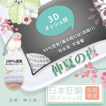 【優宅嚴選】日本長銷專利大支撐竹炭透氣水洗枕