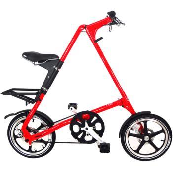 STRiDA速立達16吋LT折疊單車-碟剎(法拉利紅)