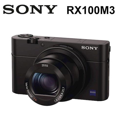 【32Gx2+電充全配】SONY DSC-RX100M3 大光圈WiFi類單眼相機 RX100III