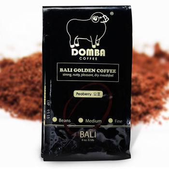 【幸福小胖】巴里島空運現磨黃金咖啡粉  5包 (公豆/半磅/包)