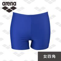 arena 運動休閒款 FMS6230WPA 女士 平口四角 泳褲 高彈 速乾 提臀