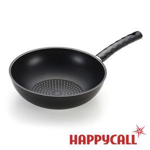 【HAPPYCALL】鑽石塗層不沾深炒鍋(28cm)