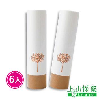 上山採藥   胭脂木水嫩護唇膏 4.5g  6入組