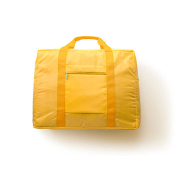 【Design Go】活力摺疊購物袋-黃色
