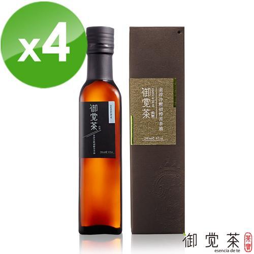【茶寶 御覺茶】金淳冷壓初榨苦茶油250ml(4瓶組)