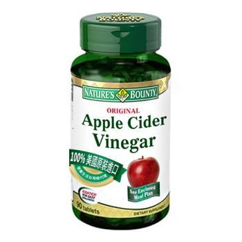 (自然之寶 )蘋果醋複方食品錠四入