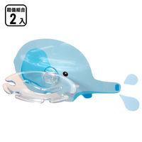 黏樂趣 NELO多用途卡通造形牙刷架/香皂架重複貼掛勾組_二入組