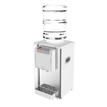 元山不鏽鋼桌式桶裝冰溫熱飲水機 YS-8201BWIB