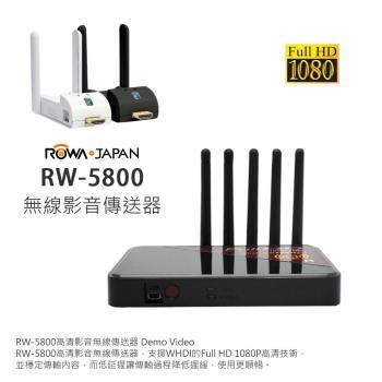 ROWA-JAPAN RW-5800 無線影音傳送器