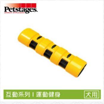 《美國 Petstages》1154 互動彈力棒-M (幼/成/老犬) 寵物互動 吸引追逐 狗玩具
