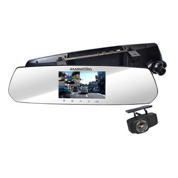 MANHATTAN RS10D 4K UHD 2160P 雙鏡頭 後視鏡 行車紀錄器