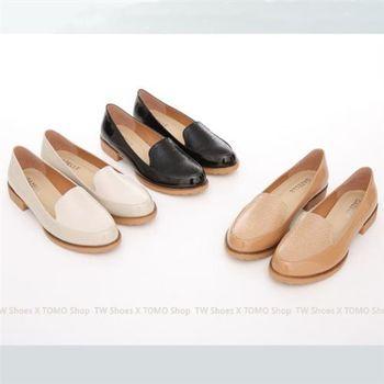 【TW Shoes】蛇紋拼接漆皮紳士樂福鞋(K130A2210)