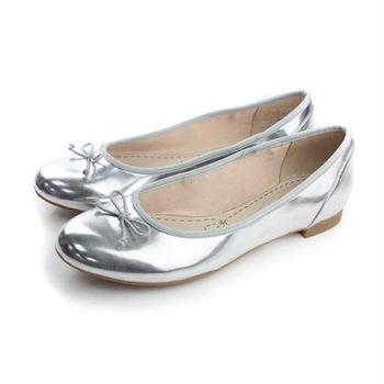 Clarks Couture Bloom 平底鞋 銀色 女鞋 no736