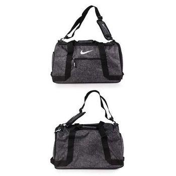 【NIKE】GOLF 高爾夫衣物包- 旅行袋 手提袋 碳灰黑