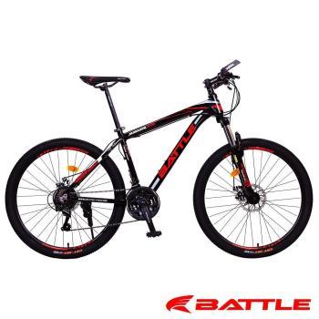 【BATTLE】 BMA-700 豪華版 搭配 日本Shimano 21速 液壓管鋁合金 登山車