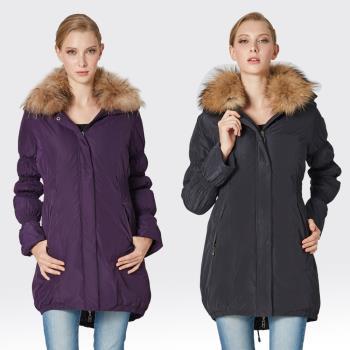 【SAMLIX山力士】JIS90%羽絨防潑水保暖外套#324