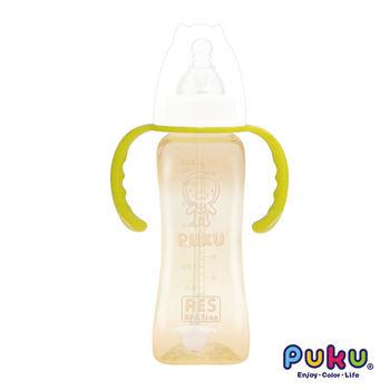 PUKU藍色企鵝 - 實感標準PES吸管練習奶瓶-270ml