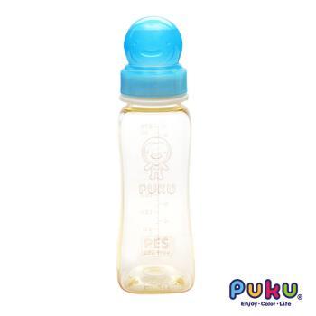 PUKU藍色企鵝 - 實感標準PES方型奶瓶-270ml