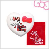 Hello Kitty 電子式暖爐 甜蜜蕾絲款 暖心紅KT-Q08R