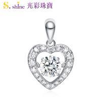 【光彩珠寶】日本舞動鑽石項鍊 愛的約定 GIA0.3克拉 D VS2
