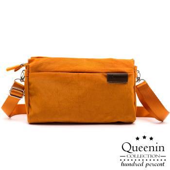 DF Queenin日韓 - 韓版旅行輕質側背包-共4色