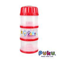 任-PUKU藍色企鵝 - 獨立大三層PP奶粉盒(粉色)