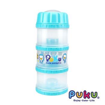 任-PUKU藍色企鵝 - 獨立大三層PP奶粉盒(水色)