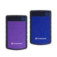Transcend 創見 STOREJET 25H3P/25H3B 2TB  2.5吋 外接行動硬碟 紫or藍