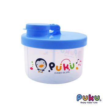 PUKU藍色企鵝 - 小三格奶粉盒(水色)
