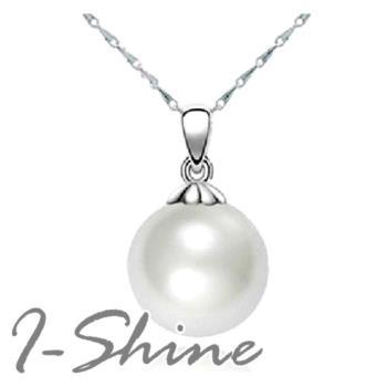 【I-Shine】珍愛一生-韓劇宋慧喬925純銀珍珠造型項鍊(現貨)