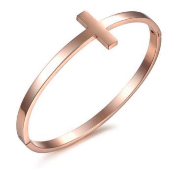【I-Shine】永恆神話-西德剛 韓劇明星十字架鈦鋼手環