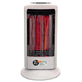 伊娜卡可擺頭直立碳素電暖器(雙管式) ST-3816T