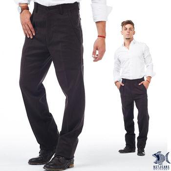 【NST Jeans】397(66396) 大無畏 深咖啡色斜口袋休閒褲(中腰)  超細莫代爾 第二層肌膚的柔滑感受