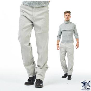 【NST Jeans】397(66412) 人間好時節 暖象牙白 細織紋_斜口袋休閒褲(中腰)   重點在特殊紋理布料的休閒褲