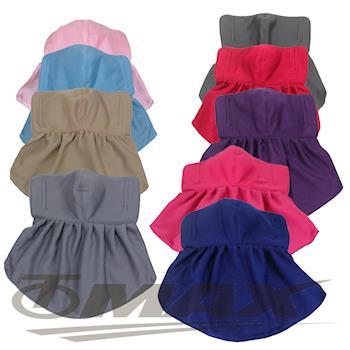 omax吸濕排汗防曬護頸口罩-3入(隨機出貨)