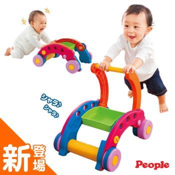 【日本People】新折疊式簡易學步車