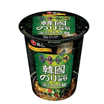 【農心】海苔味杯麵(65gx12杯/箱)