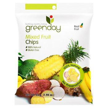Greenday蔬果脆片55g*6包