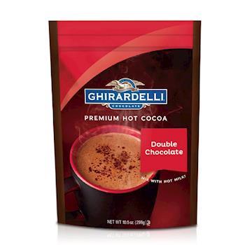 【鷹牌 Ghirardelli】美國原裝進口 雙重可可粉2包優惠組(298g x 2)
