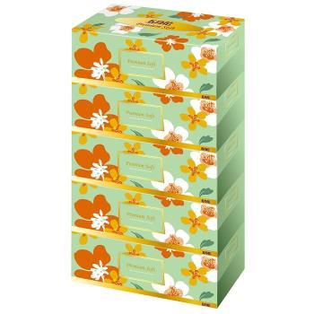 五月花 親肌感盒裝面紙200抽*5盒*10串