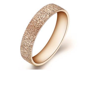 【I-Shine】守護愛情-西德鋼 精緻磨紗鈦鋼戒指