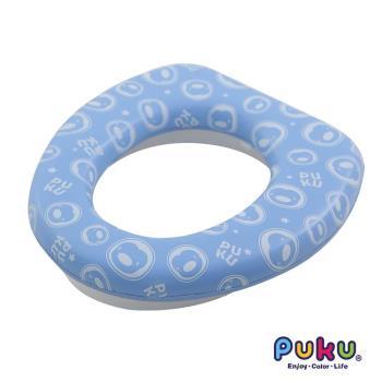 任-PUKU藍色企鵝 - 舒適便座(水色)