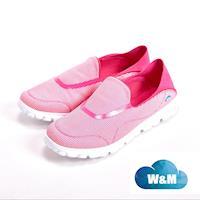W&M MODARE 超彈力條紋舒適瑜珈鞋墊女鞋