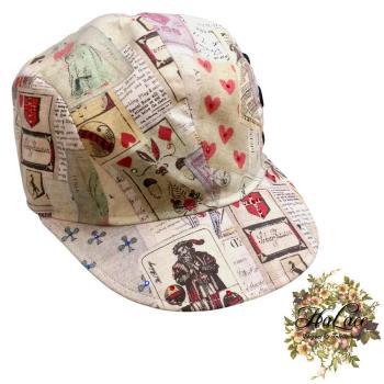 【HaLace創意手工拼布包】手作撲克牌拼接壓舌帽