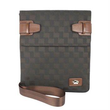 DRAKA達卡 - DRAKA 達卡 - 斜背包/側背包/肩背包-掀開式經典格紋扁包44DK8699-8
