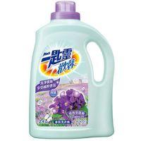 任-任選-一匙靈 歡馨蝶舞紫羅蘭香超濃縮洗衣精(瓶裝)2.4kg