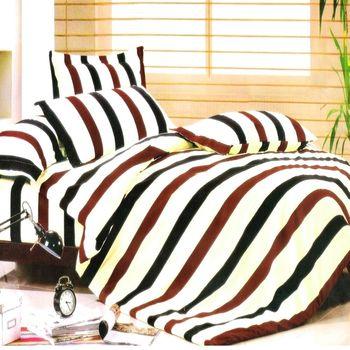 『Luo mandi 羅曼蒂』簡單年代 舒感綿雙人四件式被套床包組